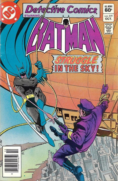 Cover for Detective Comics (DC, 1937 series) #519 [Direct Sales]