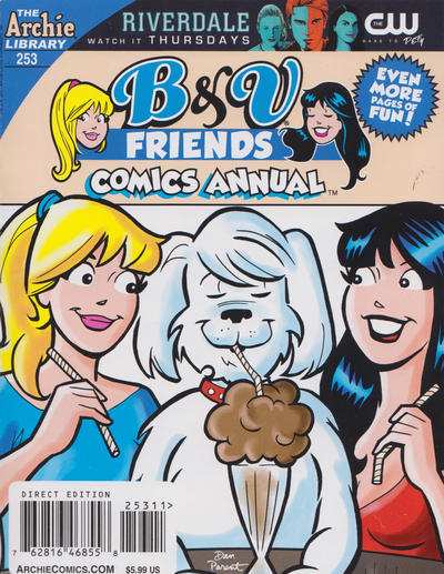 Cover for B&V Friends Double Digest Magazine (Archie, 2011 series) #253