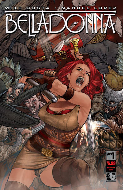 Cover for Belladonna (Avatar Press, 2015 series) #1 [Century Nude & Naughty A - Christian Zanier Cover]