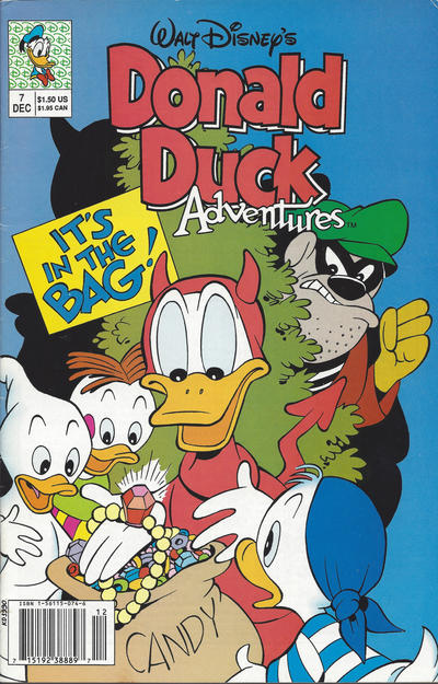Cover for Walt Disney's Donald Duck Adventures (Disney, 1990 series) #7