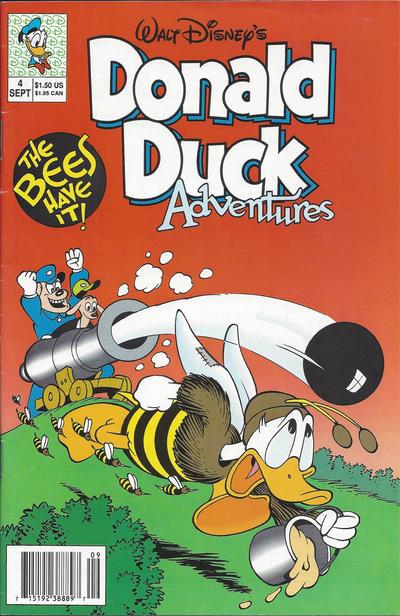 Cover for Walt Disney's Donald Duck Adventures (Disney, 1990 series) #4