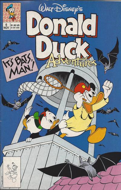 Cover for Walt Disney's Donald Duck Adventures (Disney, 1990 series) #6