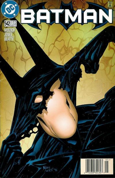 Cover for Batman (DC, 1940 series) #542 [Direct Edition]