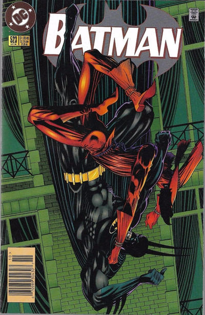 Cover for Batman (DC, 1940 series) #523 [Direct Edition]
