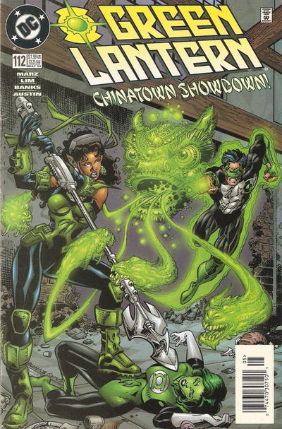 Cover for Green Lantern (DC, 1990 series) #112 [Direct Edition]