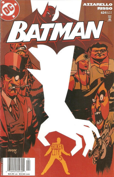 Cover for Batman (DC, 1940 series) #624 [Direct Sales]