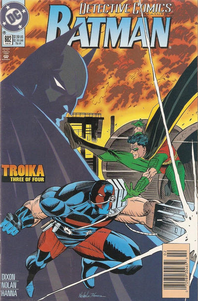 Cover for Detective Comics (DC, 1937 series) #682 [Regular Direct Edition]