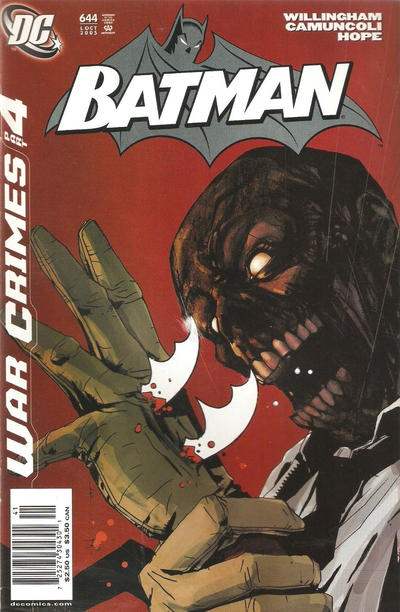 Cover for Batman (DC, 1940 series) #644 [Direct Edition]