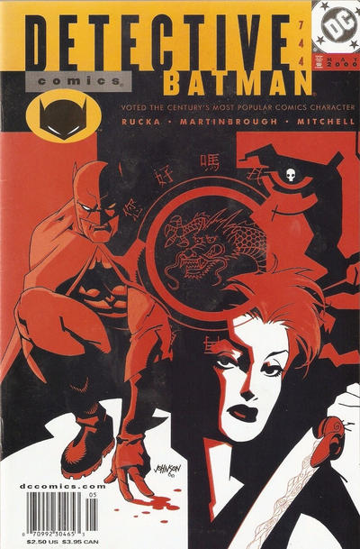 Cover for Detective Comics (DC, 1937 series) #744 [Direct Edition]