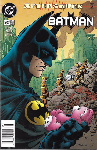 Cover for Batman (DC, 1940 series) #558 [Direct Edition]