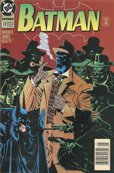 Cover for Batman (DC, 1940 series) #518 [Direct Edition]