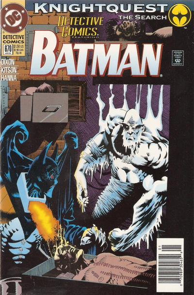 Cover for Detective Comics (DC, 1937 series) #670 [Direct Edition]