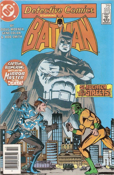 Cover for Detective Comics (DC, 1937 series) #555 [Direct Sales]