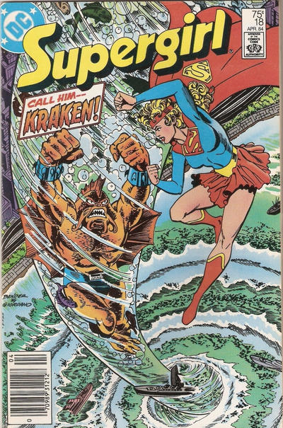 Cover for Supergirl (DC, 1983 series) #18 [Direct Edition]