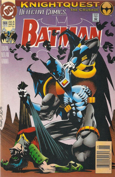 Cover for Detective Comics (DC, 1937 series) #668 [Direct Edition]