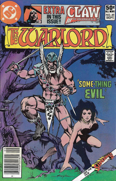Cover for Warlord (DC, 1976 series) #49 [Direct Edition]