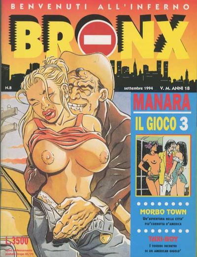 Cover for Bronx (Edizioni Nuova Frontiera, 1994 series) #8