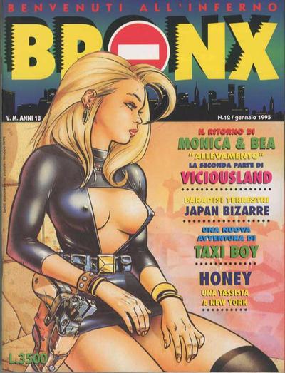 Cover for Bronx (Edizioni Nuova Frontiera, 1994 series) #12