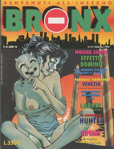 Cover for Bronx (Edizioni Nuova Frontiera, 1994 series) #13