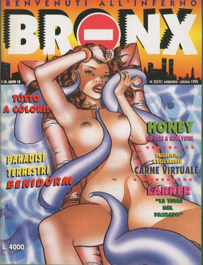 Cover for Bronx (Edizioni Nuova Frontiera, 1994 series) #20