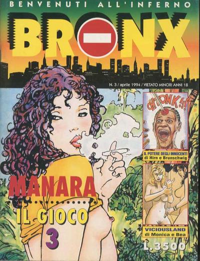Cover for Bronx (Edizioni Nuova Frontiera, 1994 series) #3