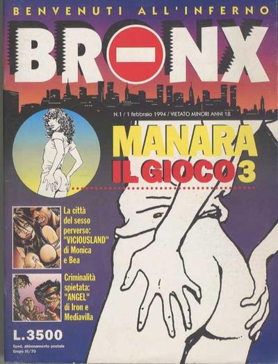 Cover for Bronx (Edizioni Nuova Frontiera, 1994 series) #1