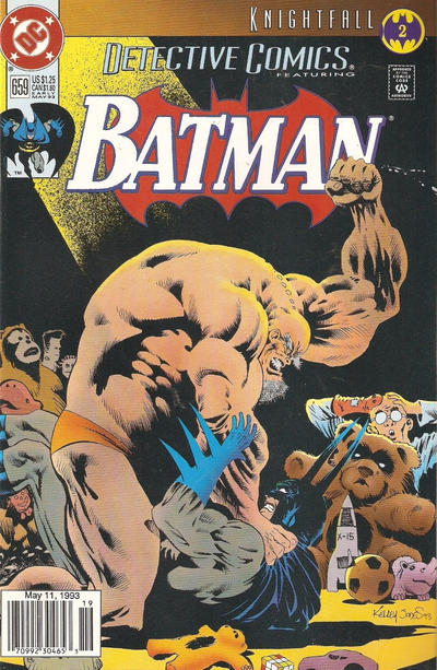 Cover for Detective Comics (DC, 1937 series) #659 [Direct Edition]