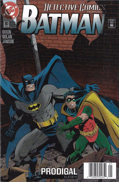 Cover for Detective Comics (DC, 1937 series) #681 [Direct Edition]