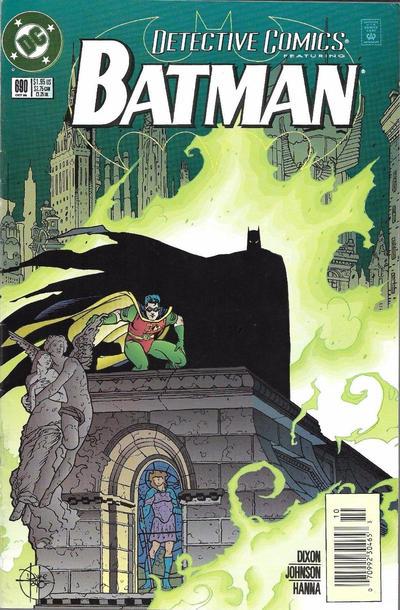 Cover for Detective Comics (DC, 1937 series) #690 [Direct Edition]