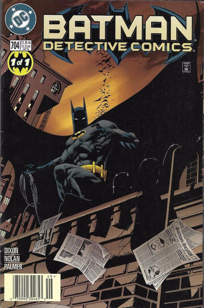 Cover for Detective Comics (DC, 1937 series) #704 [Direct Edition]