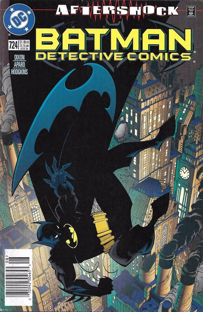 Cover for Detective Comics (DC, 1937 series) #724 [Newsstand]