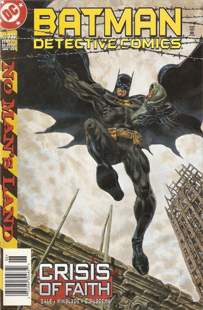 Cover for Detective Comics (DC, 1937 series) #733 [Direct Edition]