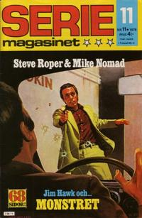 Cover Thumbnail for Seriemagasinet (Semic, 1970 series) #11/1978