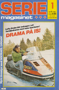 Cover Thumbnail for Seriemagasinet (Semic, 1970 series) #1/1983