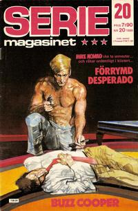 Cover Thumbnail for Seriemagasinet (Semic, 1970 series) #20/1986