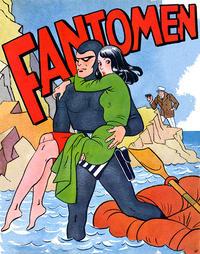 Cover Thumbnail for Fantomen [julalbum] (Serieförlaget [1950-talet], 1944 series) #[1949]