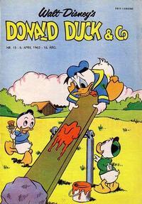 Cover Thumbnail for Donald Duck & Co (Hjemmet / Egmont, 1948 series) #15/1963