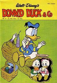 Cover Thumbnail for Donald Duck & Co (Hjemmet / Egmont, 1948 series) #21/1963