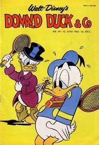 Cover Thumbnail for Donald Duck & Co (Hjemmet / Egmont, 1948 series) #24/1963