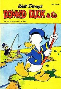 Cover Thumbnail for Donald Duck & Co (Hjemmet / Egmont, 1948 series) #28/1963