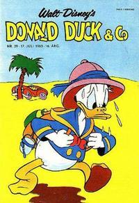 Cover Thumbnail for Donald Duck & Co (Hjemmet / Egmont, 1948 series) #29/1963