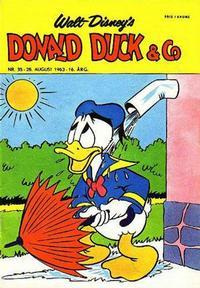 Cover Thumbnail for Donald Duck & Co (Hjemmet / Egmont, 1948 series) #35/1963
