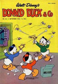 Cover Thumbnail for Donald Duck & Co (Hjemmet / Egmont, 1948 series) #36/1963