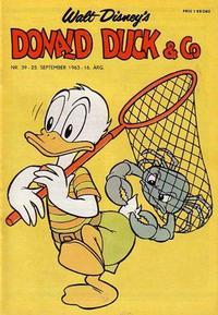 Cover Thumbnail for Donald Duck & Co (Hjemmet / Egmont, 1948 series) #39/1963