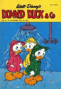 Cover Thumbnail for Donald Duck & Co (Hjemmet / Egmont, 1948 series) #47/1963