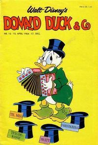 Cover Thumbnail for Donald Duck & Co (Hjemmet / Egmont, 1948 series) #16/1964