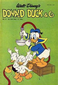 Cover Thumbnail for Donald Duck & Co (Hjemmet / Egmont, 1948 series) #21/1964