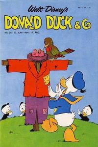 Cover Thumbnail for Donald Duck & Co (Hjemmet / Egmont, 1948 series) #25/1964