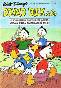 Cover Thumbnail for Donald Duck & Co (Hjemmet / Egmont, 1948 series) #38/1964