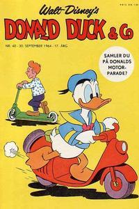 Cover Thumbnail for Donald Duck & Co (Hjemmet / Egmont, 1948 series) #40/1964